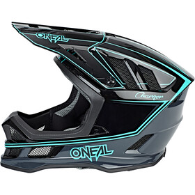 O'Neal Blade Helm charger black/teal